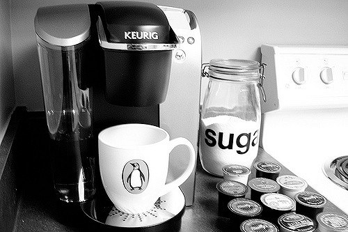 A Keurig Coffee Maker