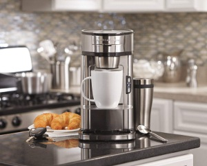 a powerful single-serve-coffee-maker
