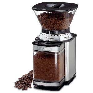 a powerful Burr grinding machine