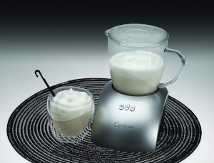 an electric milk-frother