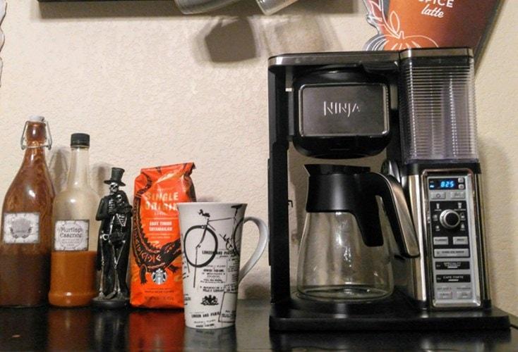 cleaning ninja coffe maker
