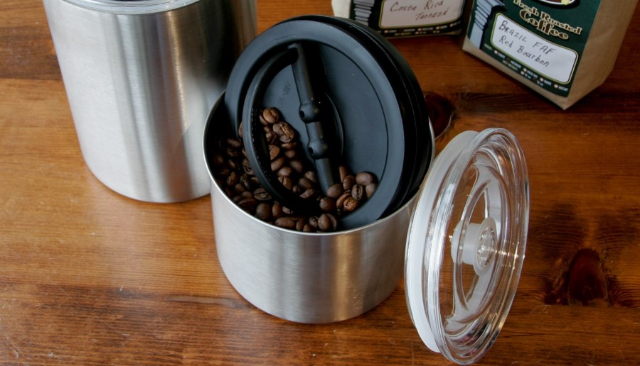 coffee bean storage