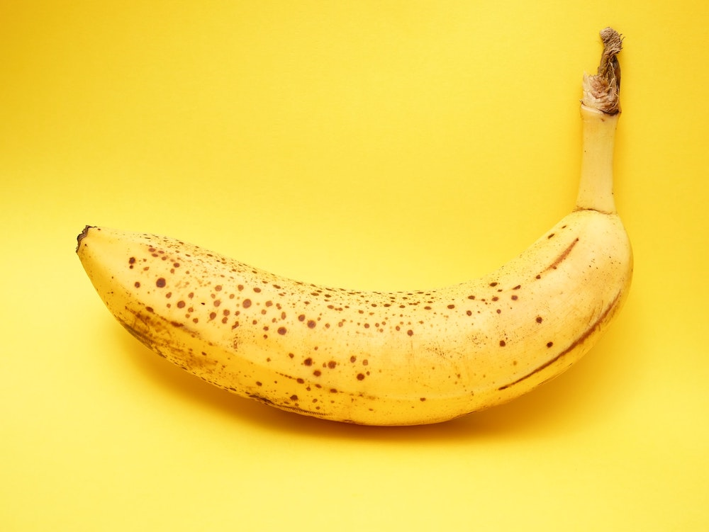 eat banana for coffee stomach ache