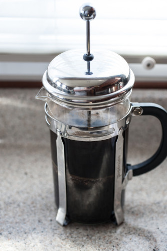 french press pluses