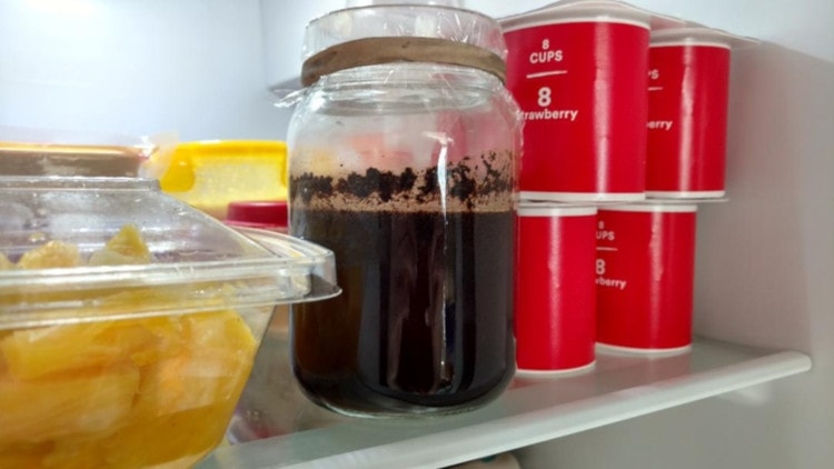 how to make cold brew in a mason jar