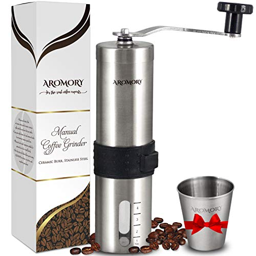 AROMORY Manual Coffee Bean Grinder
