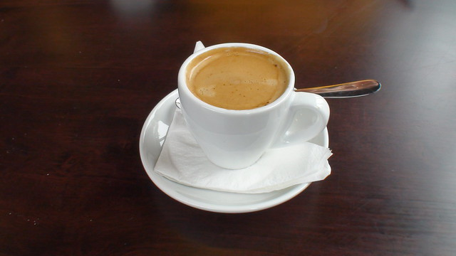 a delicous cup of espresso