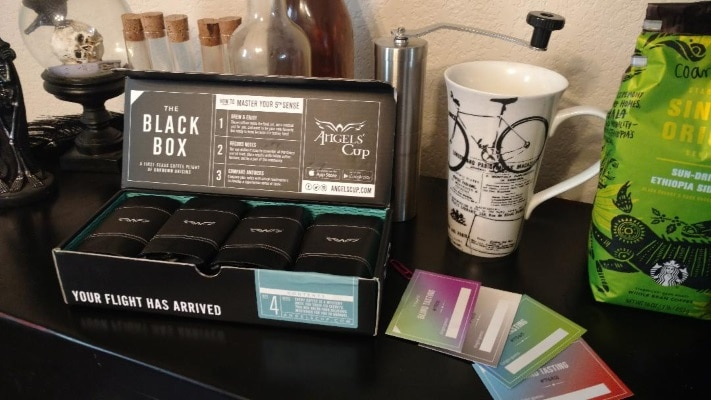 Angel's cup coffee subscription