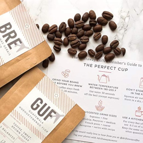 Driftaway Coffee Subscription beans