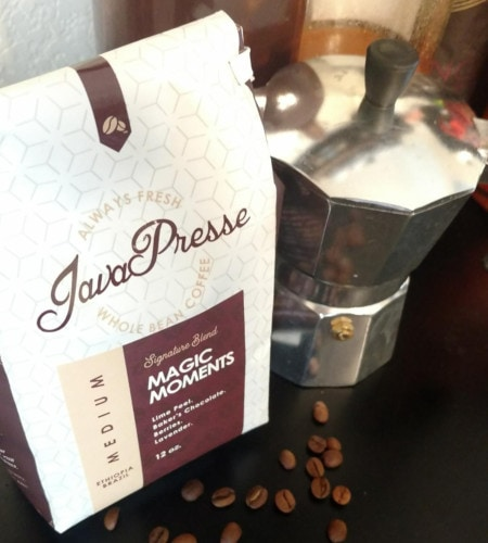 JavaPresse Coffee and moka top