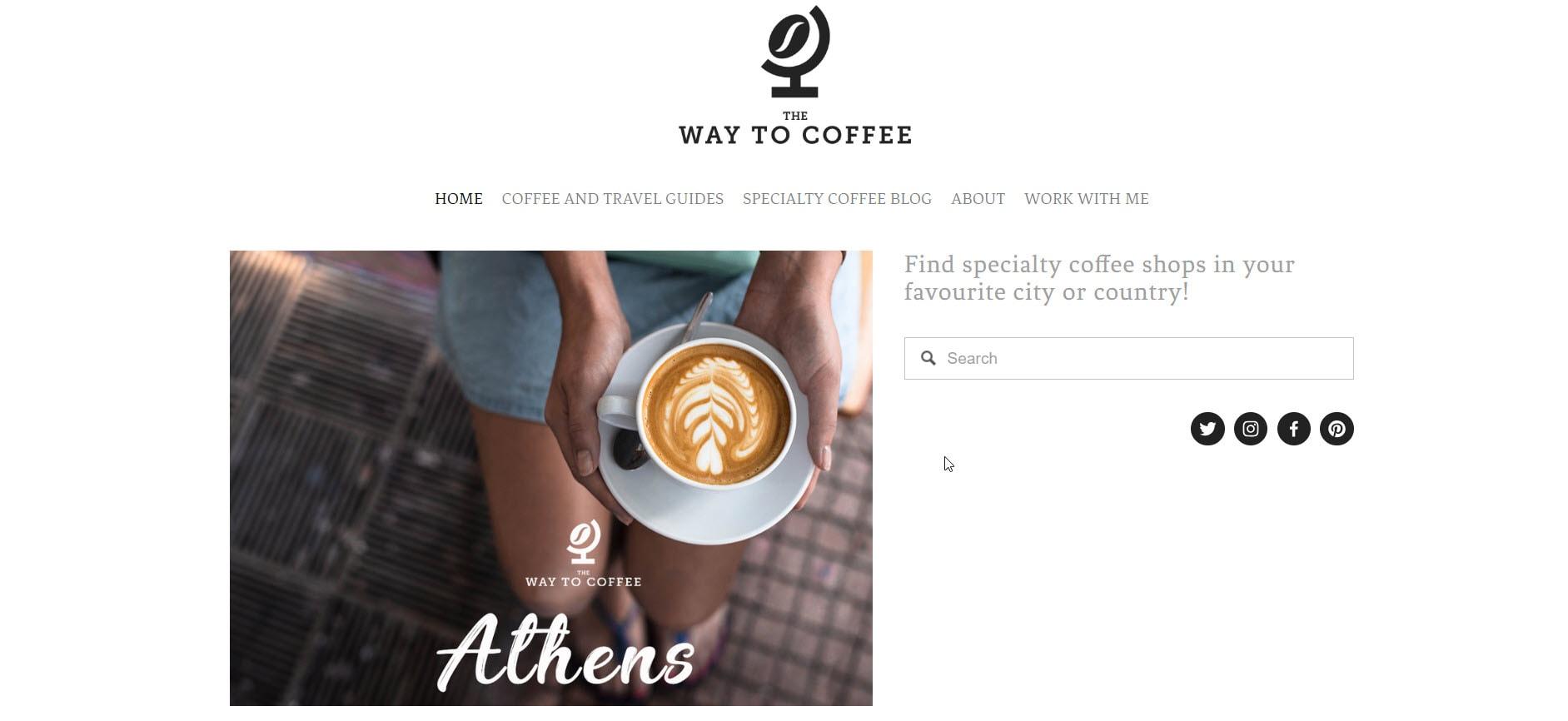 The Way To Coffee Blog