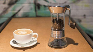 a coffee grinder for french press