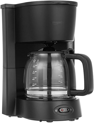AmazonBasics 5-Cup Coffeemaker (MA-D03A)