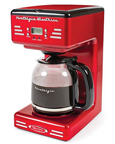 Nostalgia Retro 12-Cup Programmable Coffee Maker