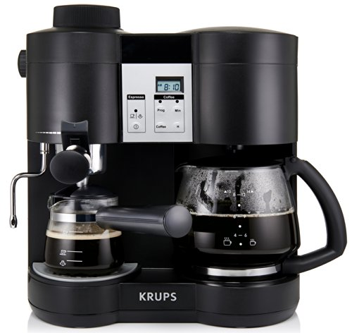 Krups XP160050 Coffee Maker & Espresso Machine Combo
