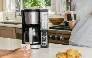 a 12-cup coffee maker