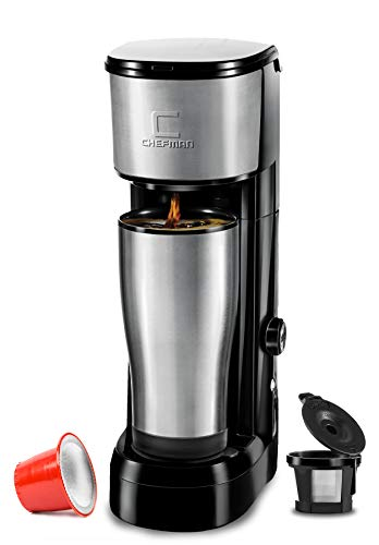Chefman Instabrew Single Serve Coffee Maker