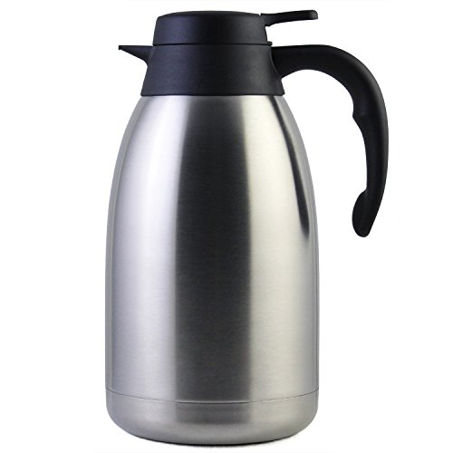 Cresimo Stainless Steel Thermal Coffee Carafe (68-Ounce)