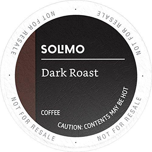 Solimo Dark Roast Coffee Pods