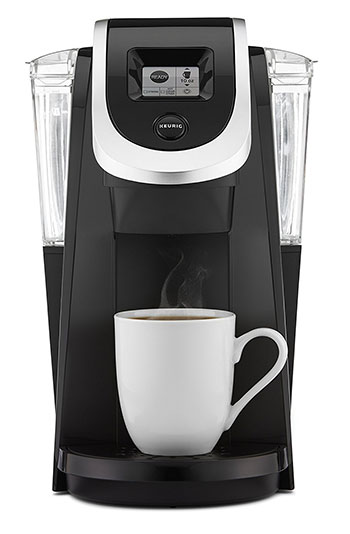 A single serve coffee maker