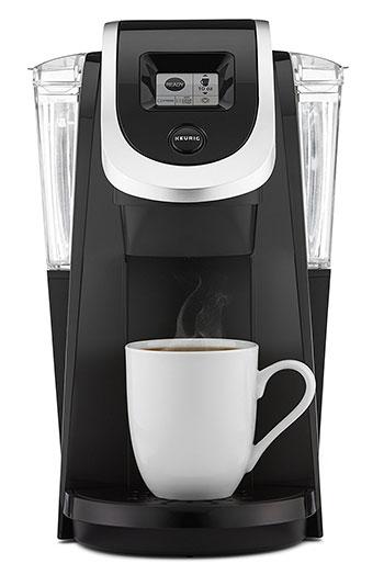 A single serve coffee maker