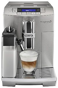 A commercial espresso machine