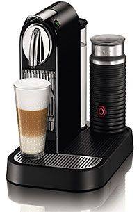 A Nespresso machine