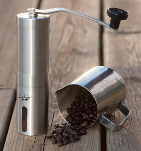 a coffee grinder for aeropress