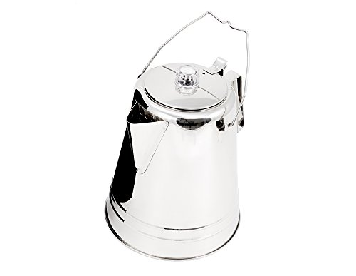 GSI Outdoors Glacier Stainless Coffee Percolator