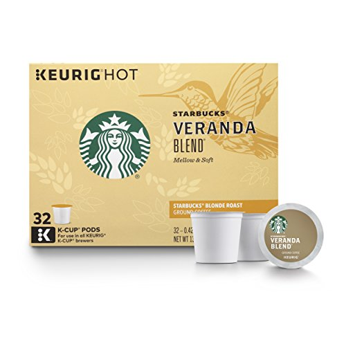 Starbucks Veranda Blend Blonde Roast K-Cup Pods