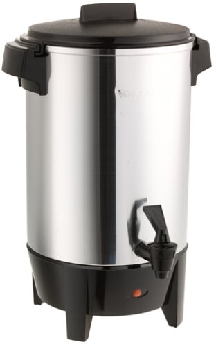 West Bend 58030 Aluminum Coffee Urn (30-cup)