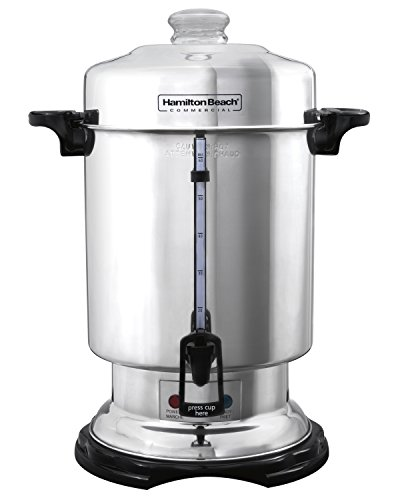 Hamilton Beach D50065 Stainless-Steel Coffee Urn (60-cup)