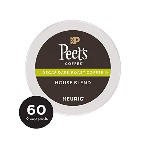 Peet's Coffee Decaf House Blend K-Cup Coffee Pods