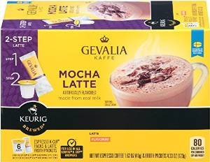 Gevalia Mocha Latte Espresso K-Cups for Keurig