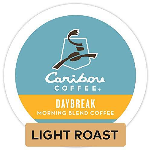 Caribou Coffee 'Daybreak Morning Blend' Light Roast K-Cups