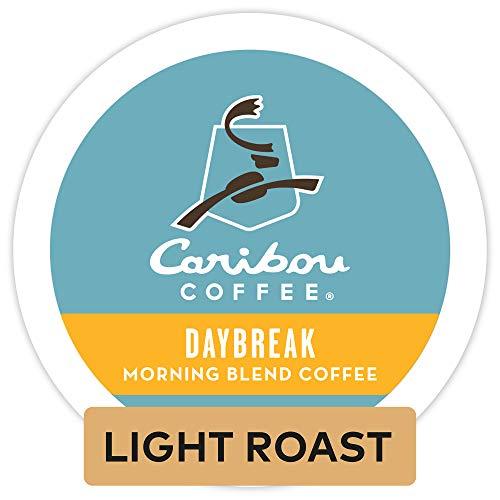 Caribou Coffee 'Daybreak Morning Blend' Light Roast K-Cups