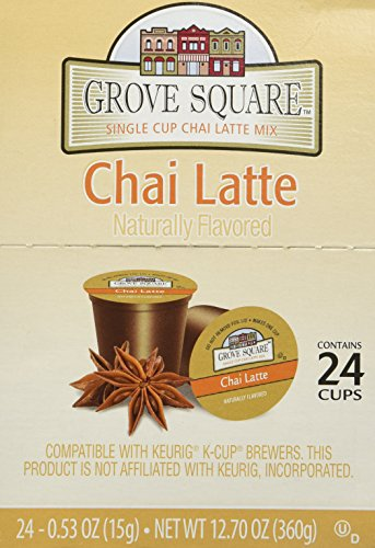 Grove Square Chai Latte Keurig K-Cup Pods