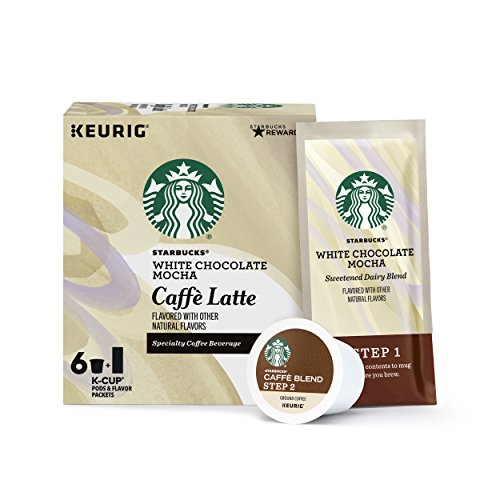 Starbucks Mocha Caffè Latte Medium Roast Keurig Pods