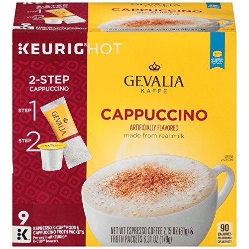 Gevalia Cappuccino Keurig K Cup Pods