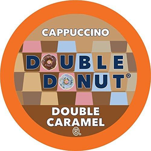 Double Donut Double Caramel Cappuccino Single Serve Cups