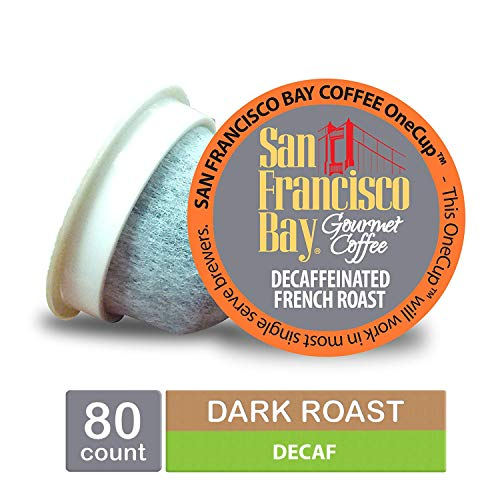 San Francisco Bay OneCup, DECAF French Roast K-Cups