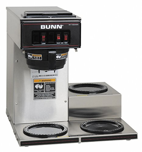 BUNN VP17-3SS3L Pourover Commercial Coffee Brewer