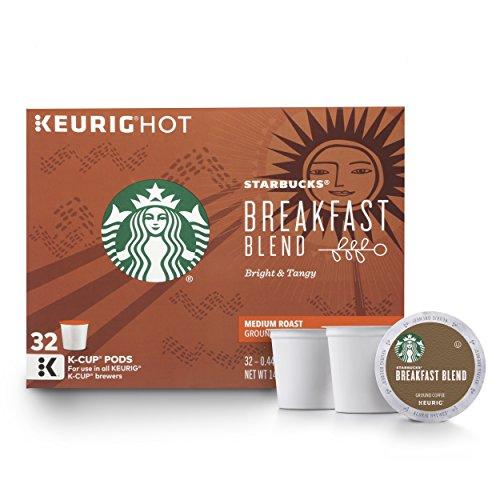 The Starbucks Breakfast Blend Medium Roast K Cups
