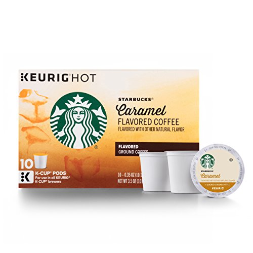 The Starbucks Caramel K-Cup Pods