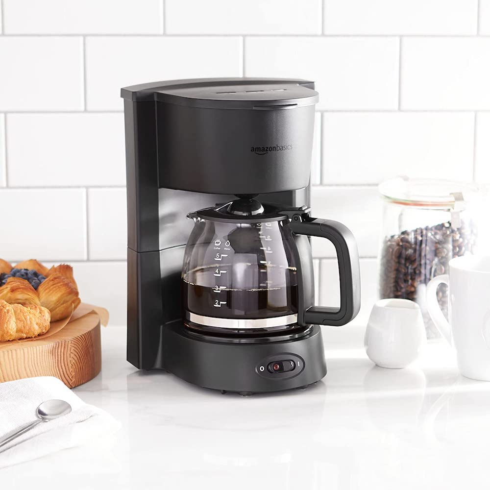 AmazonBasics 5-cup coffee maker