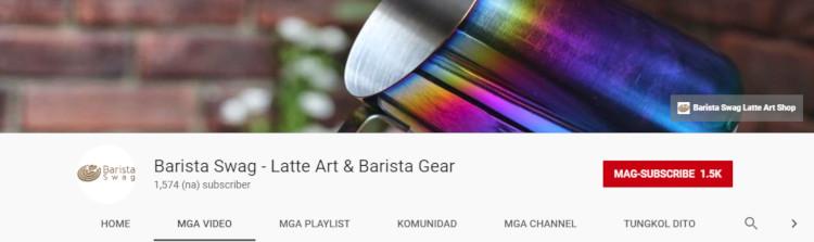 Barista Swag – Latte Art & Barista Gear