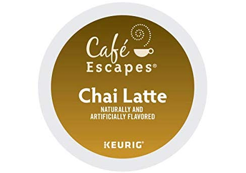 Cafe Escapes chai latte K-cups