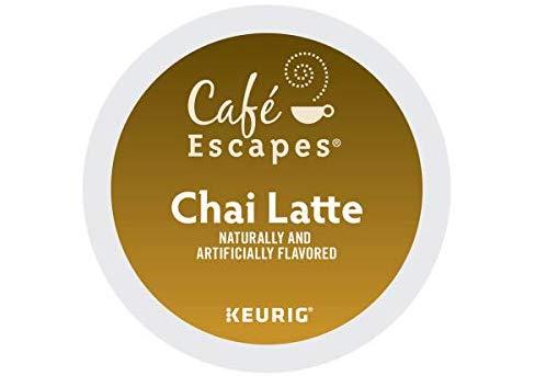 Cafe Escapes chai latte K-cups
