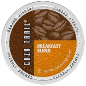 Caza trail breakfast blend pods