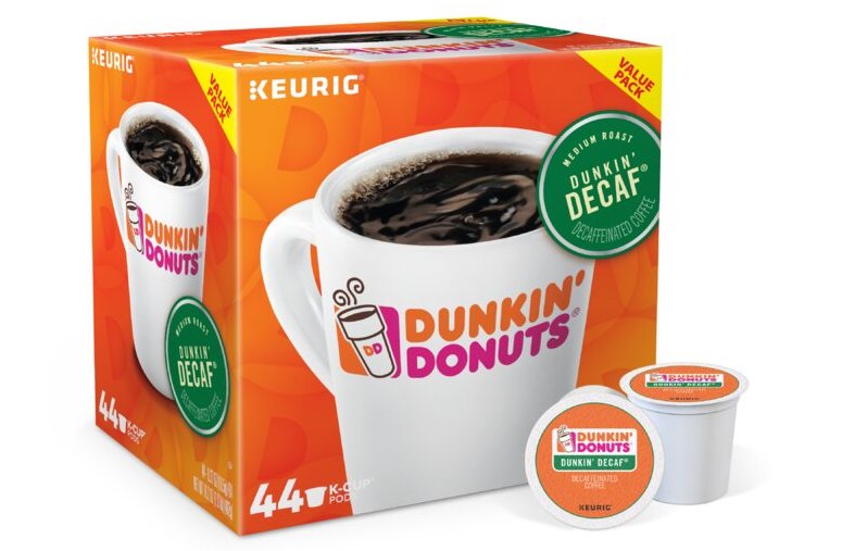 Dunkin Donuts decaf k-cups